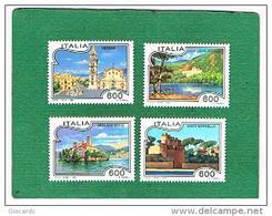 ITALIA REPUBBLICA - UNIF. 2133.2136 - 1994 TURISTICA - NUOVI **(MINT) - 6. 1946-.. Repubblica