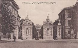 WARSZAWA -BRAMA FRONTOWA UNIWERSYTEFU - Poland