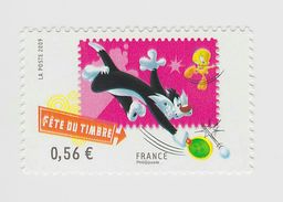 2009 - TIMBRE NEUF - Fête Du Timbre - Looney Tunes - Grosminet Et Titi - N° YT : 4339 - France