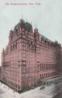 New York - Old Post Card -  Waldorf Astoria  - 2 Scan - Cafés, Hôtels & Restaurants