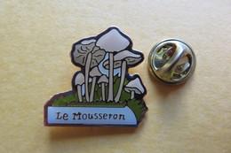 Pin's, Champignons, Le Mousseron - Badges