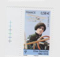 2010 - TIMBRE NEUF - Les Pionniers De L'aviation. Elise DEROCHE (1882-1919) - N° YT : 4504 - France