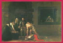 Caravage La Décadence De Saint Jean Le Batiste Malte - Peintures & Tableaux