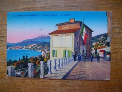Italie ,  Grimaldi-vintimiglia , Frontiera Italiana , La Dogana - Autres Villes
