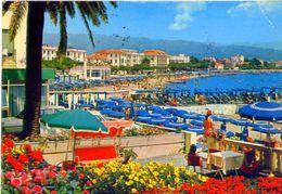 Diana Marina - Imperia - Scorcio Panoramica Della Spiaggia - 38622 - Formato Grande Viaggiata Mancante Di Affrancatura & - Imperia