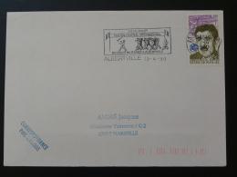 73 Savoie Albertville Festival Musique Militaire Military Music 1990 - Flamme Sur Lettre Postmark On Cover - Musique