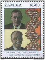 James D Watson & Francis Crick, Molecular Basis Of Heredity DNA, Nobel Prize, Genetics Code, Medicine, MNH Zambia - Physique