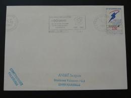 75 Paris Louvre CTC Bicentenaire De La Douane Customs 1991 - Flamme Sur Lettre Postmark On Cover - Police - Gendarmerie