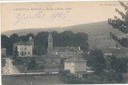 71) CHISSEY-LES-MACON : Eglise, Château, Postes - France