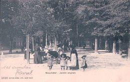 Neuchâtel, Jardin Anglais, Mères Et Enfants, Poussettes (15.10.02) - NE Neuchatel