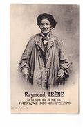 Artisan Artisanat Raymond Arene Fabrique Des Chapelets Centenaire Né En 1810 Agé De 106 Ans Cachet 1917 - Artisanat