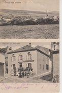 57 - OUDRENNE - 2 VUES - RESTAURANT PETER MATHIS - CARTE RARE - Autres Communes