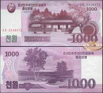 Korea North. 1000 Won (Unc) 2009. Banknote Cat# P.64 [DLC.BN05180] - Corea Del Norte
