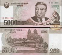 Korea North. 5000 Won (Unc) 2009. Banknote Cat# P.66 [DLC.BN05182] - Corée Du Nord