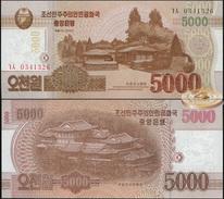 Korea North. 5000 Won (Unc) 2014. Banknote Cat# P.NL [DLC.BN05183] - Corea Del Nord