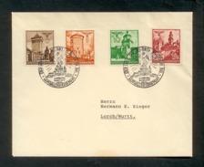 Generalgouvernement 1940, Briefumschlag, Frankiert Mit Mi.# 40 - 42, 45 - Non Classés