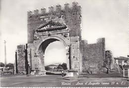 CARTOLINA - POSTCARD - RIMINI - ARCO D' AUGUSTO - ANNO 27 A. C. - Rimini