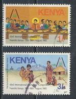 °°° KENYA - Y&T N°339/40 - 1985 °°° - Kenya (1963-...)