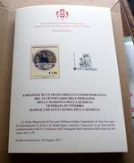 SMOM 2017 - CENTENARIO MADONNA DELLA QUERCIA  OFFICIAL BULLETTIN - Malte (Ordre De)