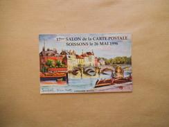 SOISSONS LE 26 MAI 1996 17ème SALON DE LA CARTE POSTALE N° 0145 - Bourses & Salons De Collections