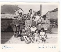 PLASNE   GROUPE D'ENFANTS  ANNEE 1958.59 - Places