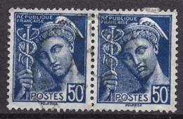 FRANCE 1938 - PAIRE Y.T. N° 414A  - OBLITERES.. K172 - Oblitérés