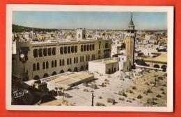EAL-15  Tunis  Horloge Des Travaux Publics. Circulé Vers La Suisse - Tunisia