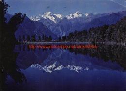 Lake Matheson - Mount Tasman - Nouvelle-Zélande
