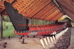 Nga Toki - Matawhaorua - Maori War Canoe - Waitangi - New Zealand - Nouvelle-Zélande