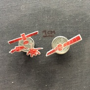Badge (Pin) ZN005441 - Satelite And Lunar Vehicles Space Program - Spazio