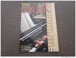 Marseille CPM Publicitaire Sur Le Thème De La Danse Ballet  Musique Festival International De Piano La Roque D´Antheron - Musique Et Musiciens