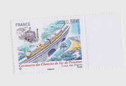 2011 - TIMBRE NEUF - Centenaire Des Chemins De Fer De Provence - N° YT : 4564 - France
