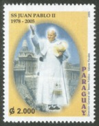 POPE J.PAUL II/STAMPS, PARAGUAY 2005 - HOMAGE. MNH. - Paraguay