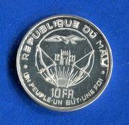 Mali  10  Fr  1960  Arg  25  Gr - Mali (1962-1984)