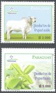 COWS/STAMPS, PARAGUAY 2009 - MERCOSUR, EXPORTATION - Paraguay
