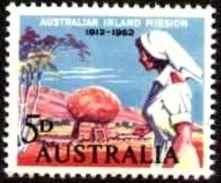 Nurse, Australian Inland Mission Founded By Rev. John Flynn, 50th Anniv., Australia Stamp SC#346 MNH - 1952-65 Elizabeth II : Ed. Pré-décimales