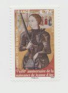 2012 - TIMBRE NEUF - 600ème Anniversaire De La Naissance De Jeanne D'Arc (1412-2012) - N° YT : 4654 - France