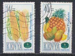 °°° KENYA - Y&T N°618/22 - 1995 °°° - Kenia (1963-...)
