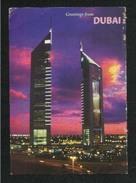 United Arab Emirates UAE Dubai Picture Postcard Emirates Towers Dubai View Card - Dubai