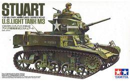 US Light Tank M3 Stuart 1/35 ( Tamiya ) - Military Vehicles