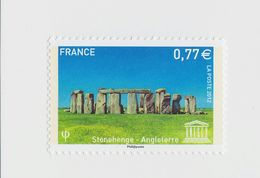 2012 - TIMBRE DE SERVICE NEUF - U.N.E.S.C.O. - Stonehenge En Angleterre - N° YT : 154 - Service