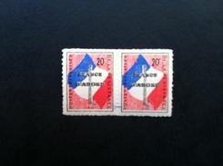 France - 1945 - Vignette Militaire En Paire - TB - Militärmarken