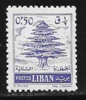 Lebanon, Scott # 341 Mint Hinged Cedar, 1960 - Lebanon