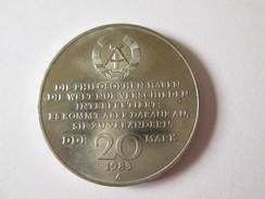Germany Democratic/GDR/DDR 20 Mark 1983 Coin-Karl Marx Commemorative Edition - Collezioni