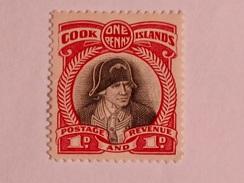 COOK ISLANDS  1932  LOT# 1  CAPT. JAMES COOK - Cook