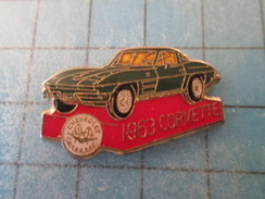 Pin116a Pin's Pins / THEME AUTOMOBILE : CHEVROLET CORVETTE 1963    ; Pas Courant , Belle Qualité - Corvette