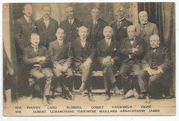 ELECTIONS DE 1924 : CANDIDATS DE LA LISTE REPUBLICAINE DE GAUCHE - France