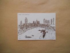HAM 2ème BOURSE PHILATHELIQUE THEME LES OISEAUX 14.04.1991 LE PARC DELICOURT  N°18 - Sammlerbörsen & Sammlerausstellungen