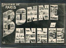 CPA - Souvenir De PARIS - Bonne Année - Other