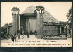 """CPA - PARIS - Exposition Des Arts Décoratifs - Pavillon """"Primavera"""" - Mostre"""